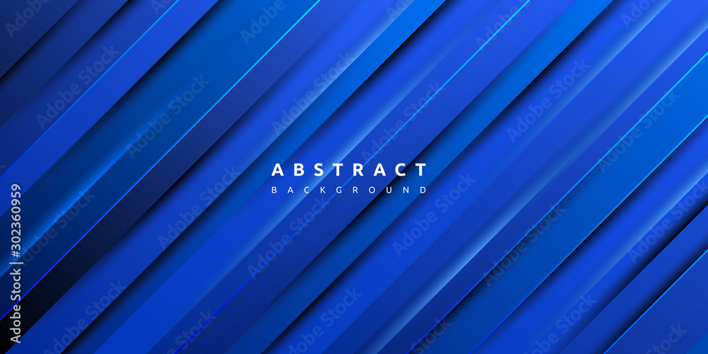 Fototapeta Abstract modern colourful gradient blue texture background