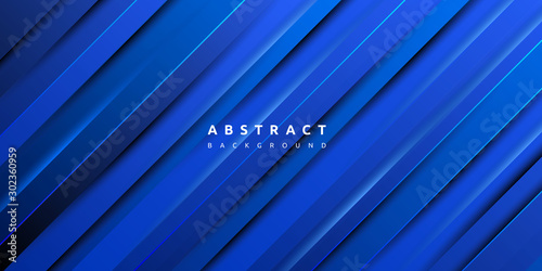 Foto  Abstract modern colourful gradient blue texture background