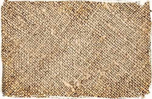 Fotografiet  isolated vintage grunge textile texture