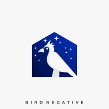 Bird House Illustration Vector Template