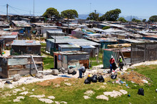 Shackles In Poor Township In Cape Town, South Africa