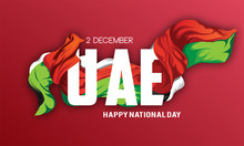 UAE Independence Day. Vector I...