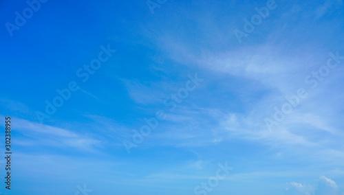 Fotografija  blue sky with cloud background sky bright color