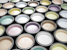 Paint Cans Full Of Soft, Paste...