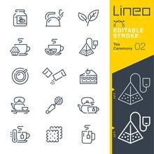 Lineo Editable Stroke - Tea Ce...