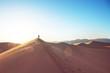 Leinwandbild Motiv Sand dunes in California