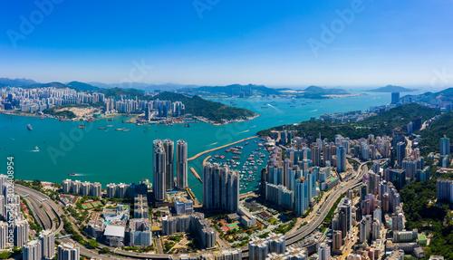Hong Kong city Canvas Print