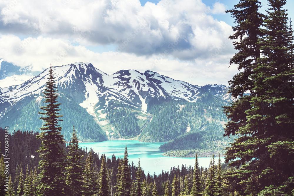 Fototapety, obrazy: Garibaldi lake