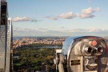 Manhattan's Central Park As Se...