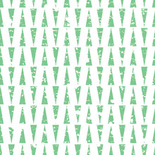 Vector Pastel Green Triangle Vertical Lines With