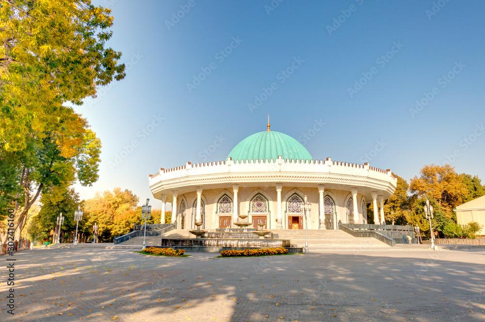 Fototapety, obrazy: Tashkent, Amir Timur Square