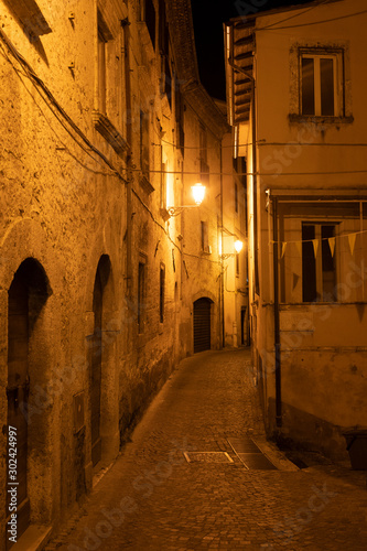 Photo Arpino, Italy, by night