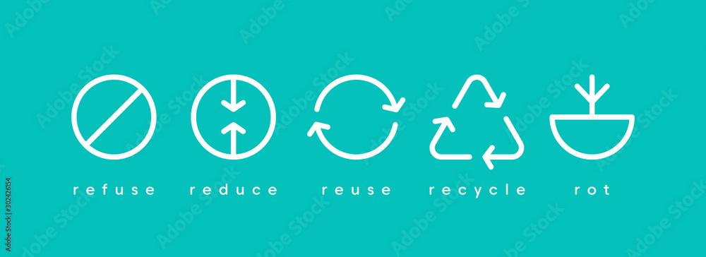 Fototapeta Earth day. Ecology banner social media vector