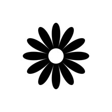 Daisy Chamomile Vector Icon Is...