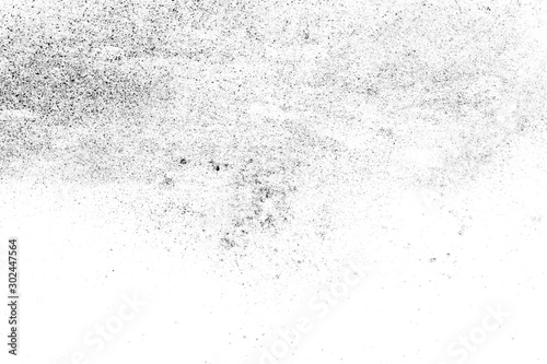 Obraz black sand isolated on white background - fototapety do salonu