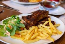 Barbecue Pork Spare Ribs With ...