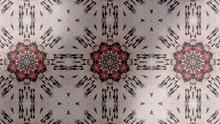 Kaleidoscope Hiden Emerald Vintage Pattern