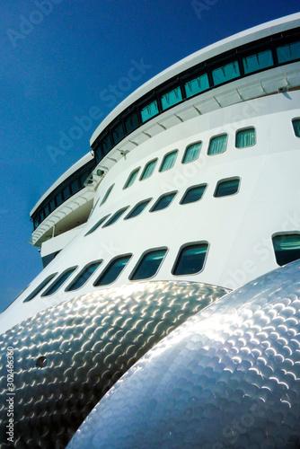 Luxurious transatlantic crossing aboard the luxury ocean liner cruise ship Cunar Wallpaper Mural