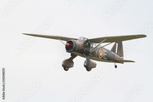Photo Westland Lysander @Duxford Flying Legends