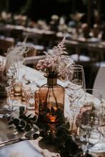 Wedding Reception Banquet Tabl...