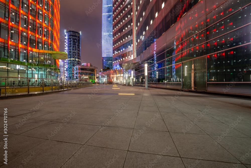 Fototapeta Shanghai square