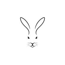 Cute Rabbit. Easter Bunny