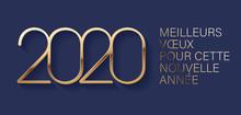 Carte De Vœux 2020 - Nouvel A...