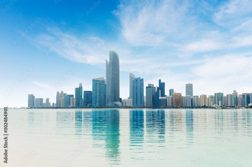 Fototapety, obrazy: Abu Dhabi City Panorama