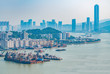 canvas print picture - Cityscapes of Zhuhai, China and Macau's Great Bay Area