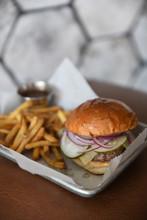 Artisan Burger And Fries