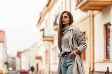 Stylish Urban Young Woman In A...