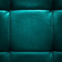 Square Shiny Dark Turquoise Le...