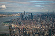 New York City as seen from top of One Observatory