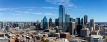 Dallas, Texas Cityscape With B...