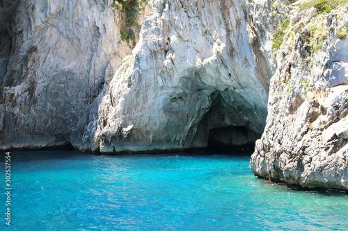 Grotto in Capri Canvas Print