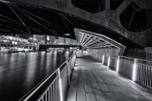 Under A Bridge On The Chicago ...