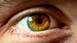 Leinwandbild Motiv close up of human eye