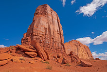 Red Rock Buttes Reaching To Th...