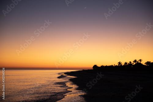 Sunset at Sanibel Island,Florida