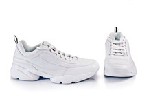 White Sneakers Isolated On A W...