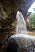 Sang Chan Waterfall (Moonlight Waterfall), Ubon Ratchathani Province, Thailand