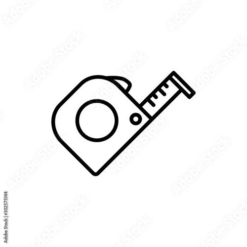 Obraz measure icon trendy flat design - fototapety do salonu