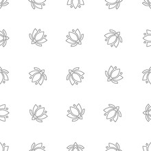 Lotus Pattern Seamless Pattern...