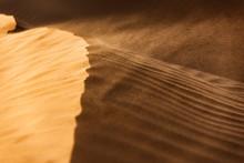 Windswept Desert Sand Dunes.