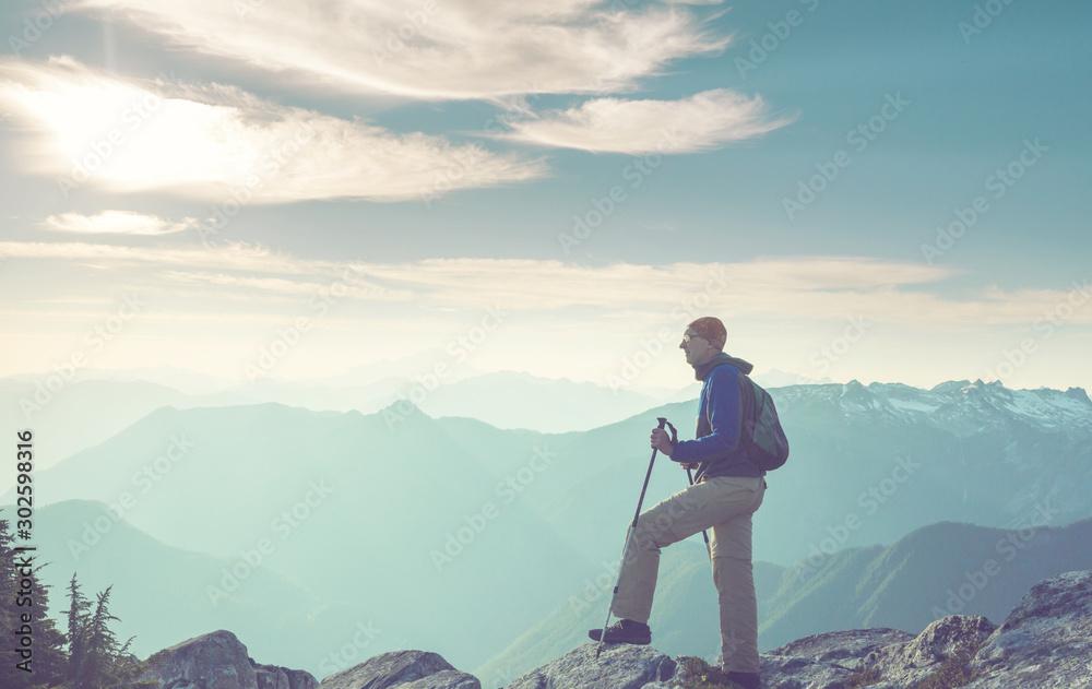 Fototapeta In hike