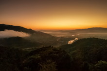 Mountain View Morning Above Ko...