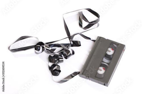 Old Video-8 cassette tape Canvas-taulu