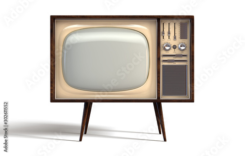 Photo Vintage Television