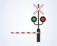 Railway Traffic Light, Barrier...