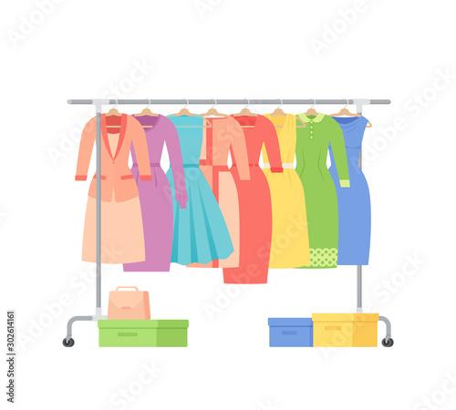 Fotografía  Clothes rack